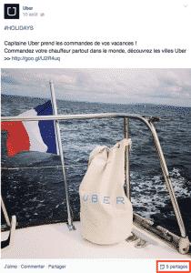 Uber partages