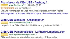 Adwords Clé USB