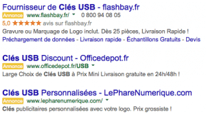 Adwords cle usb