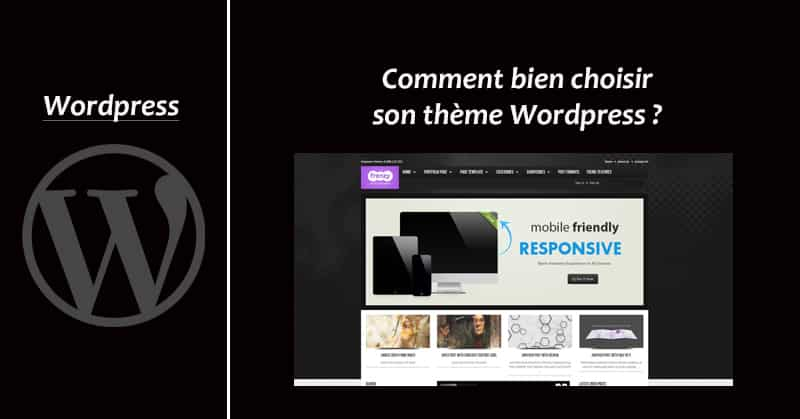 Choisir theme Wordpress