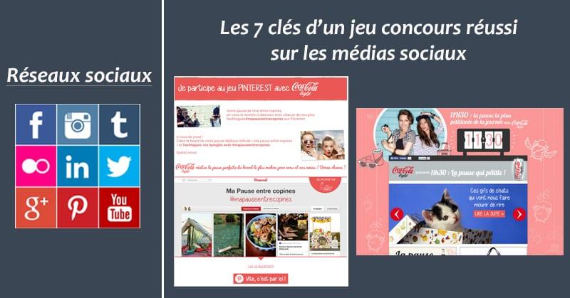Jeu-concours medias sociaux
