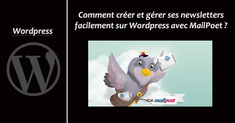 Mailpoet sur Wordpress
