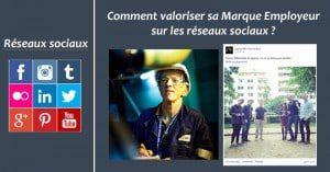 Marque Employeur sur les reseaux sociaux
