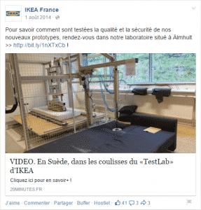 Ikea frein qual