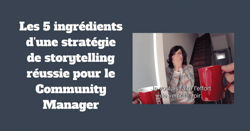 Storytelling Community Manager