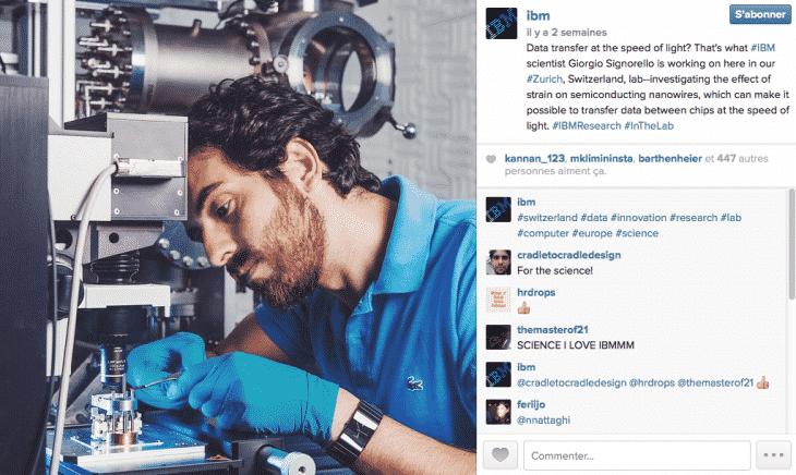 Ibm Instagram Formation reseaux sociaux