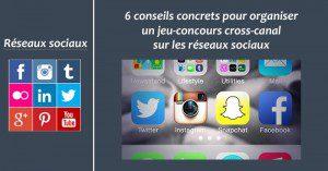 Jeu-concours cross-canal - Formation reseaux sociaux