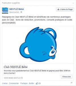 Nestle bebe - Formation reseaux sociaux