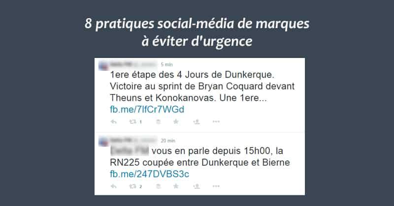 Pratiques social-media