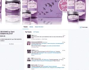 Twitter e-commerce 2