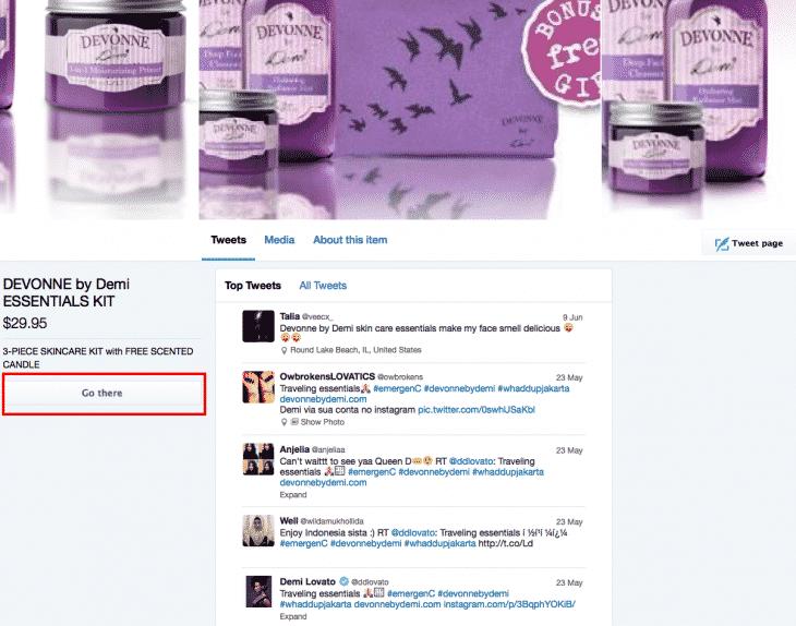 Twitter e-commerce 4