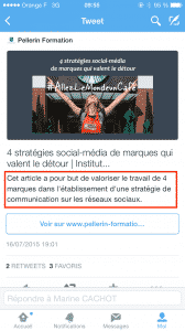 Exemple Tweet enrichi mobile