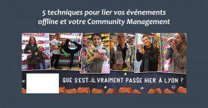 Lier Offline et Community Management