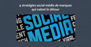 Strategies social-media