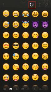 Ajout Emojis SnapChat