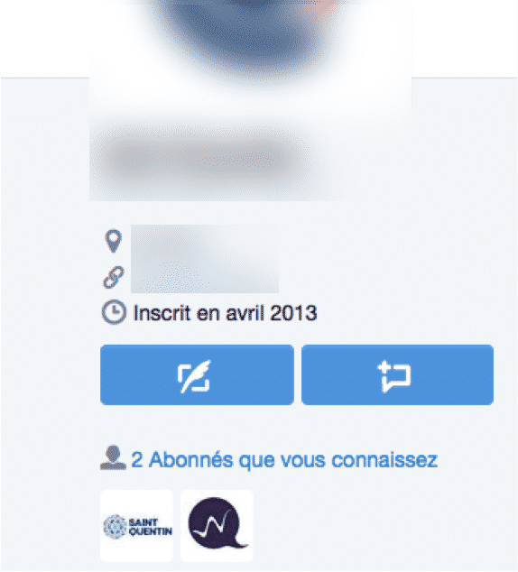 Bio Twitter Vide