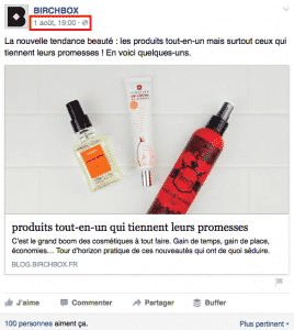 Birchbox Facebook