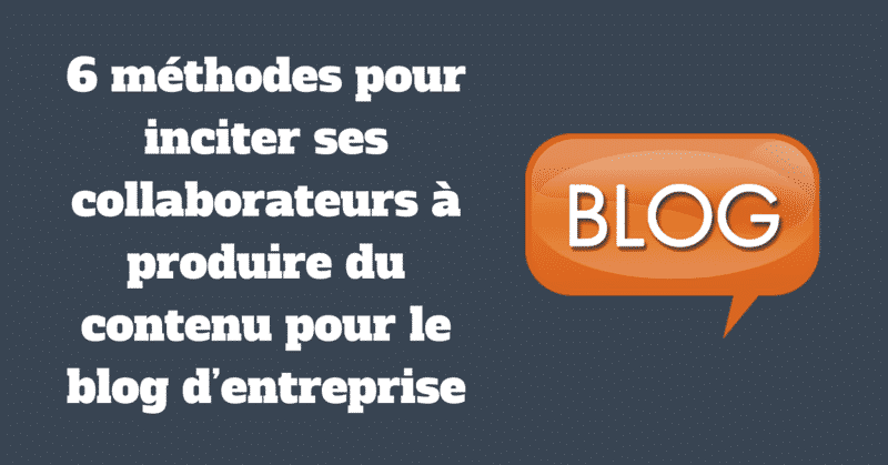 Blog Collaborateurs