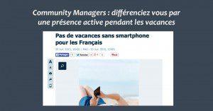 Community Management Vacances