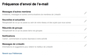 Notifications LinkedIn