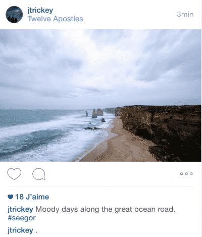 Photo Paysage Instagram