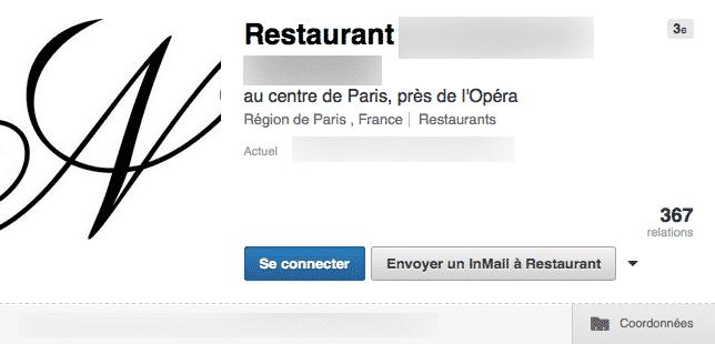 Restaurant LinkedIn