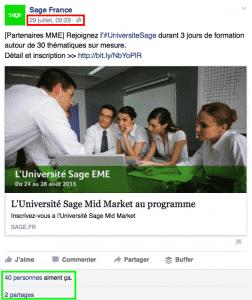 Sage France Facebook