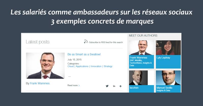 Salaries Ambassadeurs De Marque