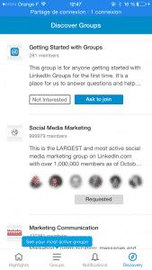 App Groupe Linkedin 2