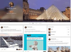 Google+ Le Louvre