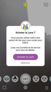 Lens Store SnapChat