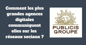 Agences digitales reseaux sociaux