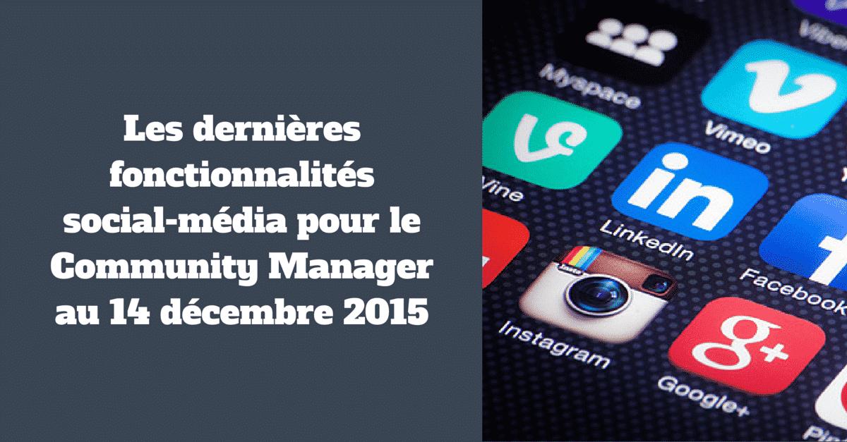 Fonctionnalites 14 decembre 2015