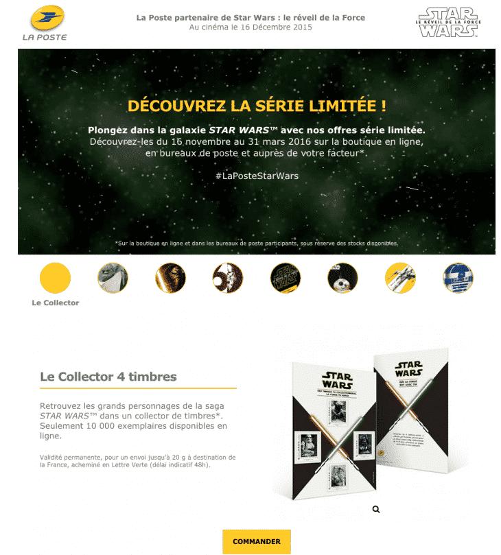 Star Wars Brand La Poste
