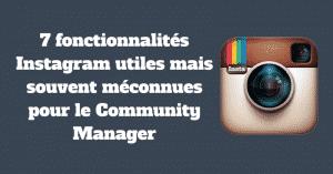 Fonctionnalites Meconnues Instagram