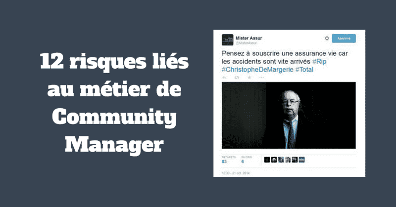 Risques Community Manager