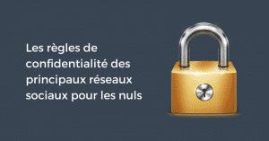 Confidentialite RS