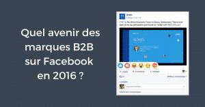 Facebook B2B