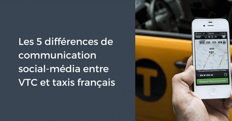 Taxis et VTC