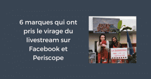 Livestream Facebook Periscope