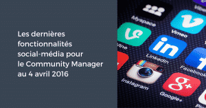 4 avril Community Manager