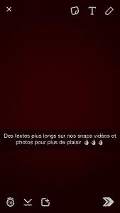 80 caracteres Snapchat