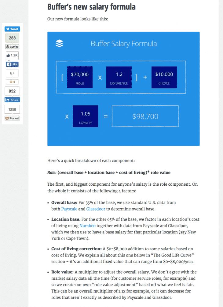 Calcul du salaire