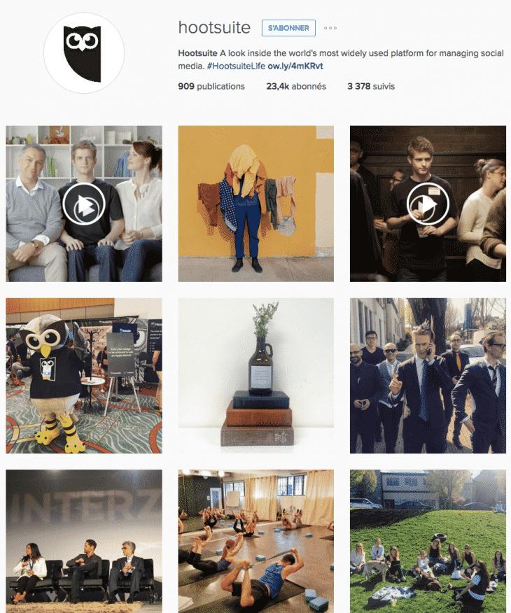 Hootsuite Instagram