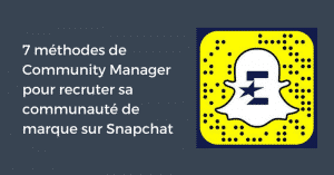 Recrutement Snapchat