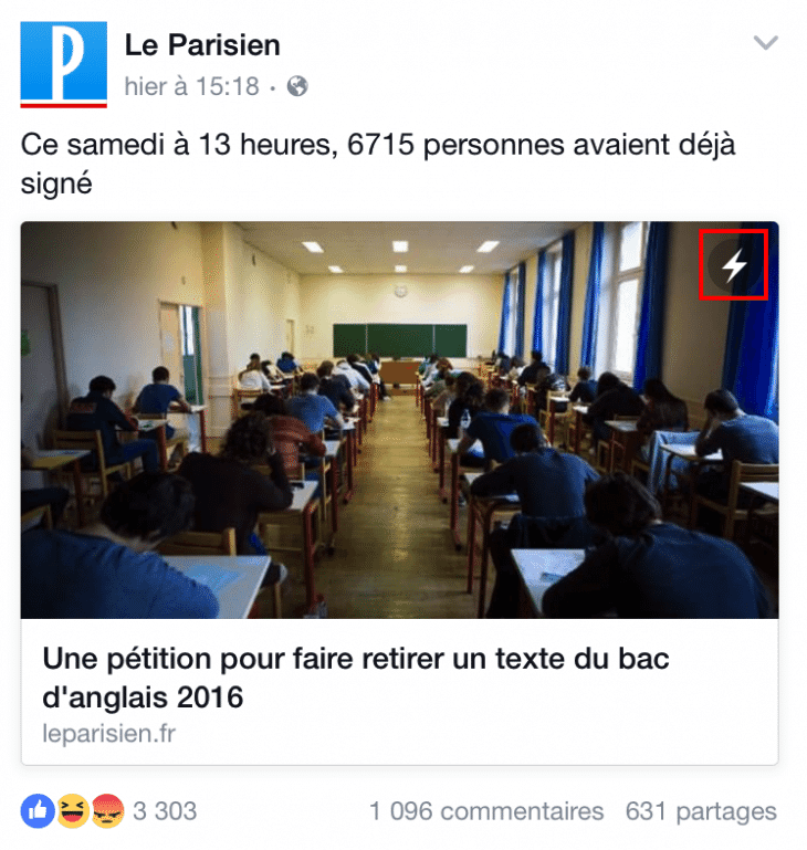 Parisien Instant Articles
