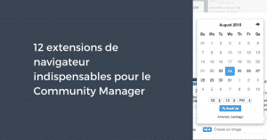 10 extensions Community Manager