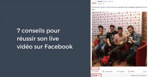 Conseils Live Facebook