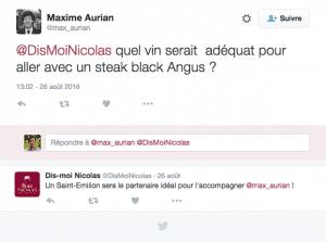 Question Tweet Dis Moi Nicolas