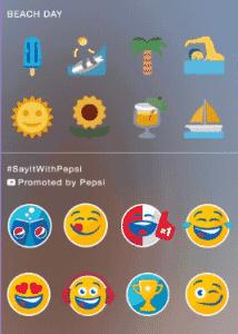 Stickers Sponsorises Twitter